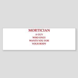 mortician Sticker (Bumper)