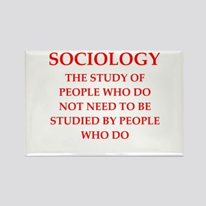 sociology Rectangle Magnet