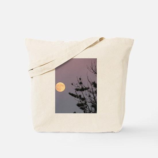Fire sunrise Tote Bag