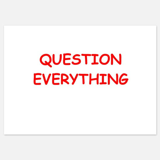 question Invitations
