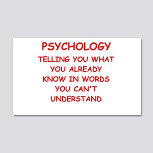 psychology 20x12 Wall Decal