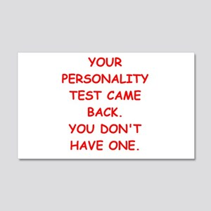 personality 20x12 Wall Decal