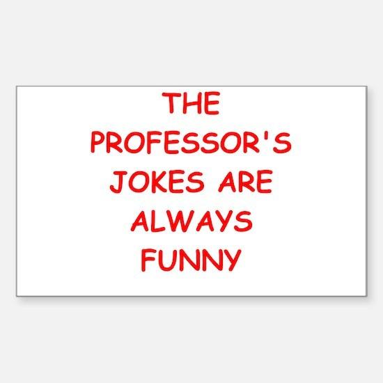 professor Sticker (Rectangle)