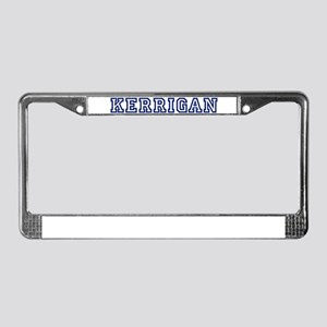 KERRIGAN University License Plate Frame