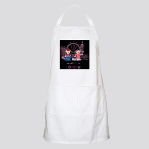 Busy in london BBQ Apron