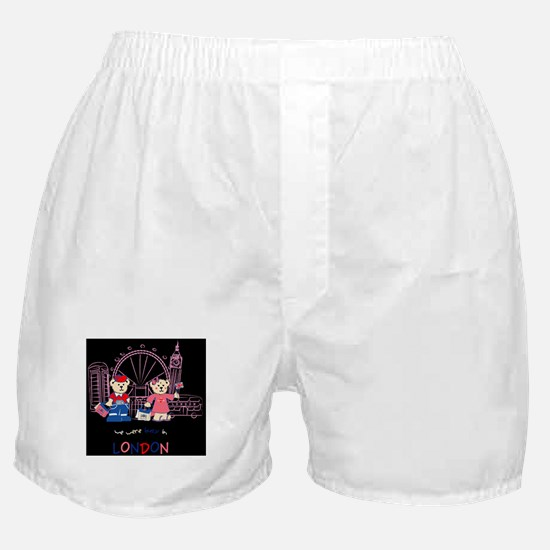 Busy in london Boxer Shorts