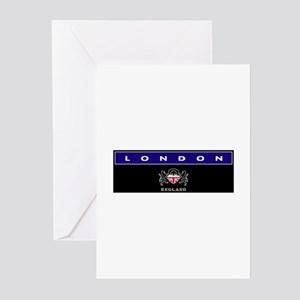 London Bandeau Greeting Cards (Pk of 10)