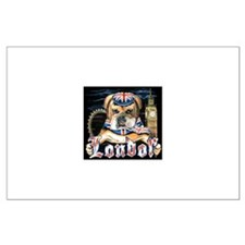 Bulldog London Large Poster