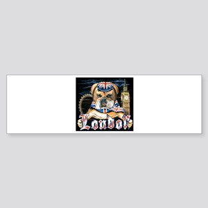 Bulldog London Bumper Sticker
