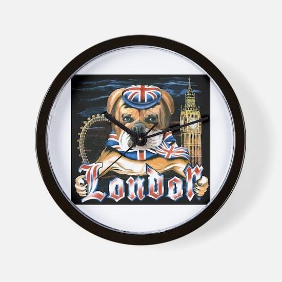 Bulldog London Wall Clock