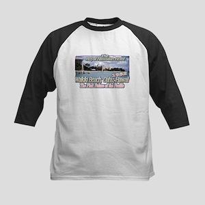 Royal Hawaiian Hotel 1952 Kids Baseball Jersey