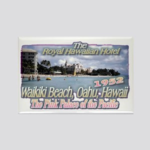 Royal Hawaiian Hotel 1952 Rectangle Magnet