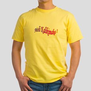 Meli Kalikimaka / Aloha ! Yellow T-Shirt