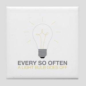 Every So Often... Tile Coaster