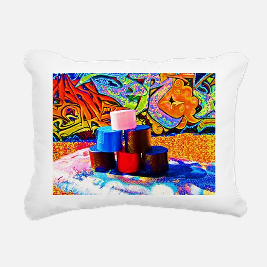 Spiaggia Venezia Rectangular Canvas Pillow
