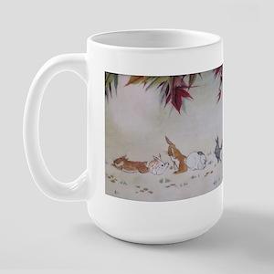 Moon bunny large mug