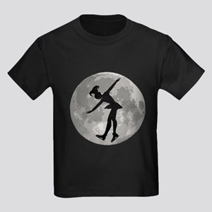Figure Skate Moon T-Shirt