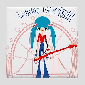 London Rock Tile Coaster