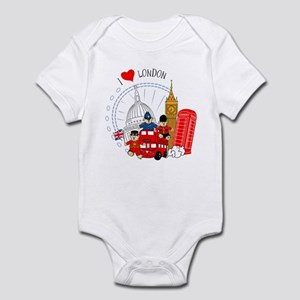 Bus tour Infant Bodysuit