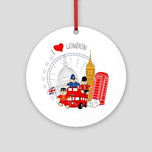Bus tour Ornament (Round)