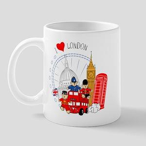 Bus tour Mug
