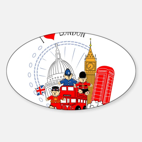 Bus tour Oval Decal