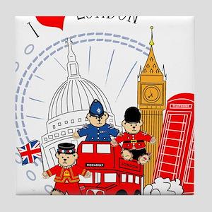 Bus tour Tile Coaster