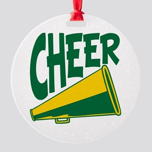 Cheer Round Ornament