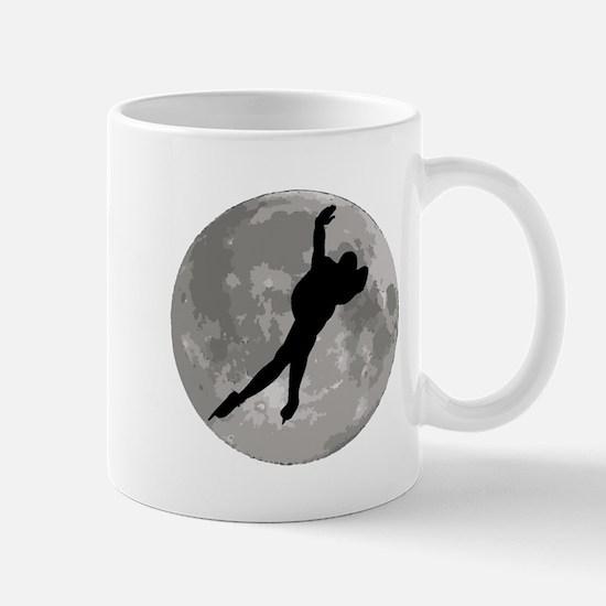 Speed Skater Moon Mugs