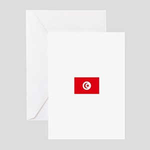 tunisia flag Greeting Cards (Pk of 10)