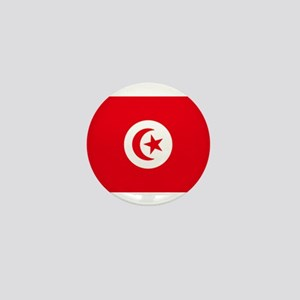 tunisia flag Mini Button