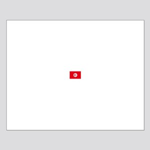 tunisia flag Small Poster