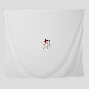blood splatter Wall Tapestry