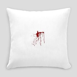 blood splatter Everyday Pillow