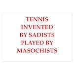 tennis 3.5 x 5 Flat Cards