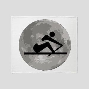 Crew Moon Throw Blanket