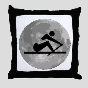 Crew Moon Throw Pillow
