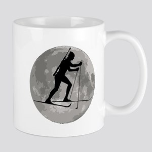 Biathlete Moon Mugs