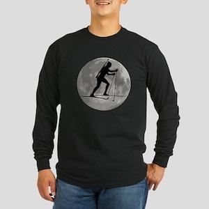 Biathlete Moon Long Sleeve T-Shirt