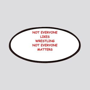 Wrestling Patches