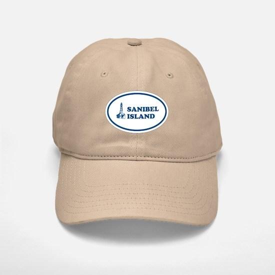 Sanibel Island Light House Baseball Baseball Cap