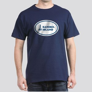 Sanibel Island Light House Dark T-Shirt