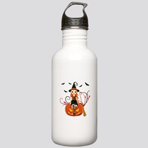 Pumpkin Witch- Stainless Water Bottle 1.0L