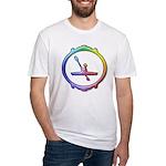 Kayak Paddling Fitted T-Shirt