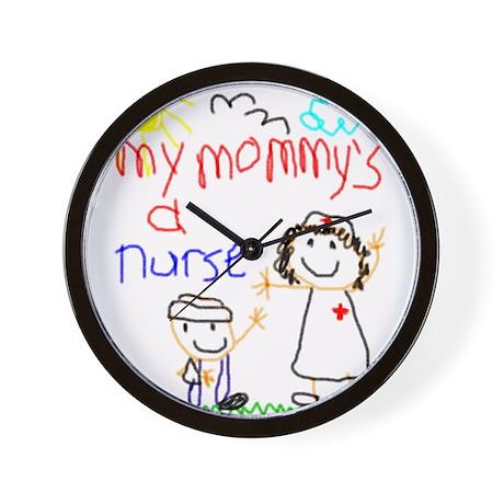 Nurse Mommy! Wall Clock