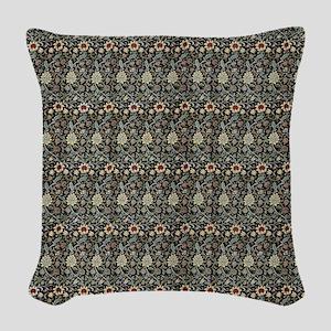 William Morris Evenlode Woven Throw Pillow