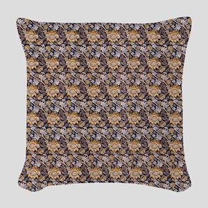 William Morris Wey Pattern Woven Throw Pillow