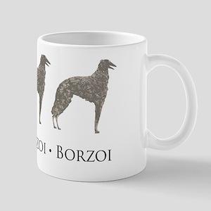 Borzoi Borzoi Borzoi Mug