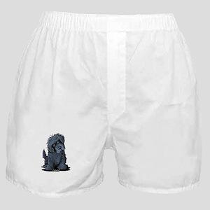 Black Newfie Boxer Shorts