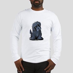 Black Newfie Long Sleeve T-Shirt